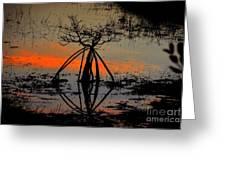 Mangrove Silhouette Greeting Card