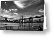 Manhattan Bound Greeting Card