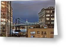 Manhattan Empire State Greeting Card