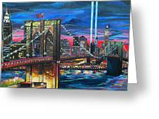 Manhattan Kinda Night Greeting Card