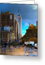Manhattan Morning Greeting Card