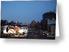 Manhattan View From The High Line Greeting Card