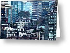 Manhattan View Greeting Card