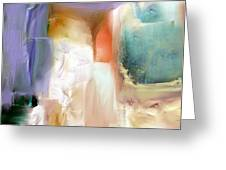 Manifesto Of Landscape Abstraction Greeting Card