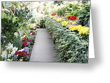Manito Park Conservatory Greeting Card