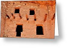 Manitou Cliff Dwellings Colorado Springs Greeting Card