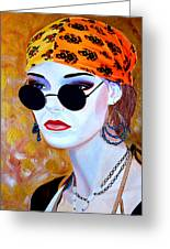 Mannequin Beauty One Greeting Card