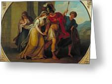 Manner Of Angelica Kauffman Greeting Card