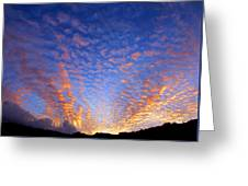 Manoa Valley Sunrise Greeting Card