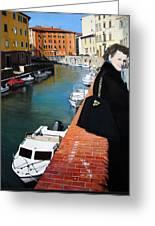 Manola In Livorno Greeting Card by Matthew Bates