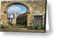 Manor House Entry Greeting Card