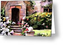 Manor House Greeting Card