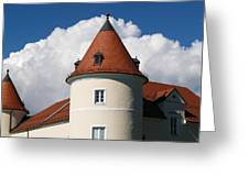 Manor House Tower Greeting Card