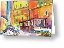 Manorola In Italy 04 Greeting Card