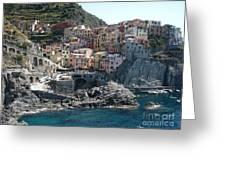 Manorola Italy Greeting Card