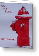 Man's Best Friend Greeting Card