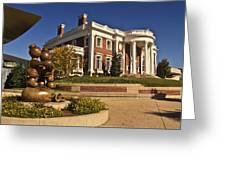 Mansion Hunter Museum Greeting Card