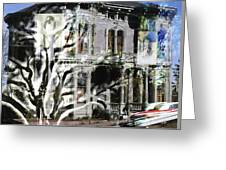 Mansion Of Obsession Greeting Card