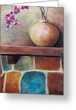 Mantel Beauty Greeting Card