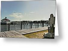 Manteo Waterfront Greeting Card