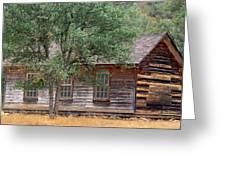 Manzana Schoolhouse - 1895 Greeting Card