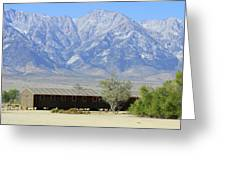 Manzanar A Blight On America 1 Greeting Card