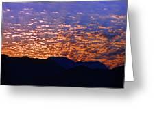 Manzanillo Sunset 3 Greeting Card