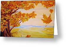 Maple One Fifty Greeting Card