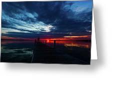 Maplehurst Dock Greeting Card