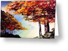 Maples Greeting Card