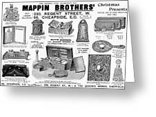 Mappin Brothers Ad, 1895 Greeting Card
