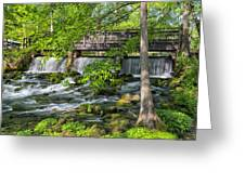 Maramec Spring Park St. James Mo Dsc02354 Greeting Card