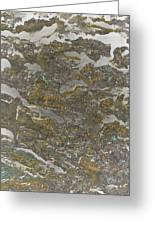 Marble Bark Colored Abstract Greeting Card