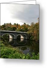 Marble Bridge Greeting Card