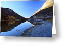 Marble Canyon Autumn Reflection Greeting Card