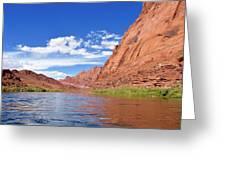 Marble Canyon Walls Greeting Card