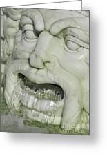 Marble Head Greeting Card