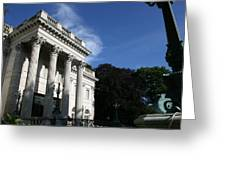 Marble House Greeting Card