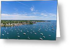 Marblehead Harbor Greeting Card