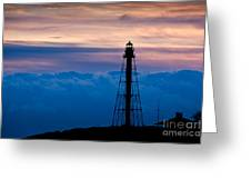 Marblehead Light Greeting Card