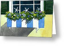 Marblehead Planter Box Greeting Card