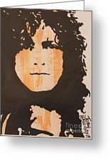 Marc Bolan T.rex Greeting Card