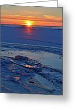 March 16-2017 Sunrise Two  Greeting Card