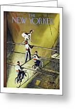 New Yorker March 27 1954 Greeting Card