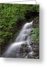 March Cataract Falls Mount Greylock Greeting Card