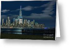 March In New York_2 Greeting Card