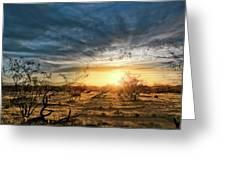 March Sunrise Greeting Card by Lynn Geoffroy