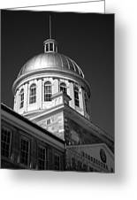 Marche Bonsecours  Greeting Card