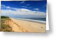 Marconi Beach Cape Cod National Seashore Greeting Card