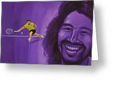 Marcos Baghdatis Greeting Card